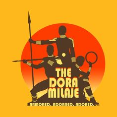 Check out this awesome 'Dora+Milaje' design on @TeePublic!