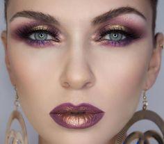 Colour smokey eyes Make-up artist: Paulina Buldumea  paulinabuldumea.com
