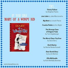 East Rockaway Public Library: Read This! If you like Diary of a Wimpy Kid