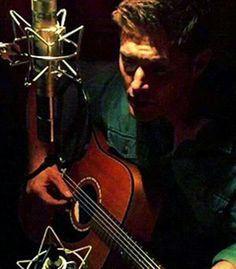 Jensen. oh dear God, does he actually sing and play guitar, because if he does that's is just too much perfection in one person