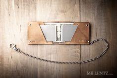 Minimal Leather Wallet - Slim - Mr. Lentz Shop