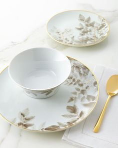 12-Piece Florence Dinnerware Service & 12-Piece Olivia Azul Dinnerware Service | Dinnerware