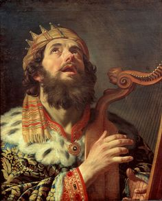 Gerard van Honthorst - King David Playing the Harp - Google Art Project - Gerard van Honthorst - Wikipédia, a szabad enciklopédia