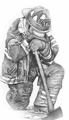 Firemans Prayer Greeting Card by Patrick Payton Firefighter Drawing, Firefighter Paramedic, Volunteer Firefighter, Firefighters, Fireman Tattoo, Fireman's Prayer, Prayer Tattoo, Firefighter Pictures, Memorial Tattoos