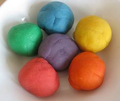 Counting Coconuts: Homemade Playdough Recipe & Notes