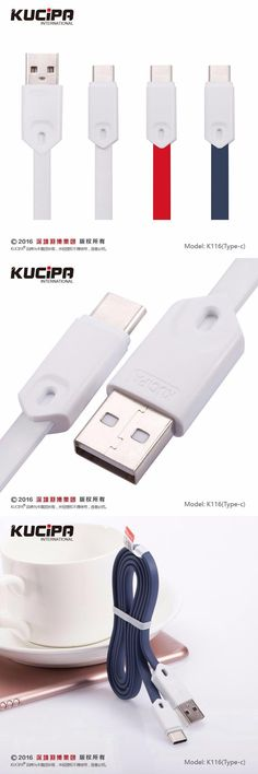 [Visit to Buy] USB 3.1 Type-C Micro USB 5V 3.5A Fast Charging Cabel for Nexus 5X,6P,OnePlus 2,Xiaomi HUAWEI,P9,10 MTAE9 USB-C Flat Cable  #Advertisement
