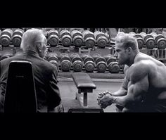 I owe everything that happened in my career to this man, Joe Weider. Just like Arnold, Joe brought me to California and told me from day one that I would be the best. I miss our conversations but his knowledge stays with me.