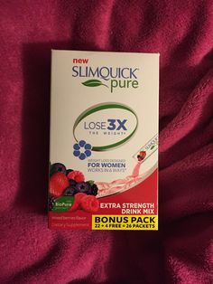 SLIMQUICK your way to a better bod!
