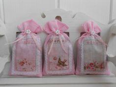 shabby chic crafts to make   Shabby chic lavender sachets - Folksy