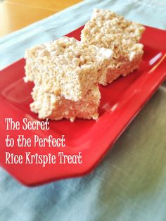 Perfect Rice Krispie Treats -  1 12-oz box of Rice Krispie Cereal 2 bags of miniature marshmallows 1/2 cup canola oil