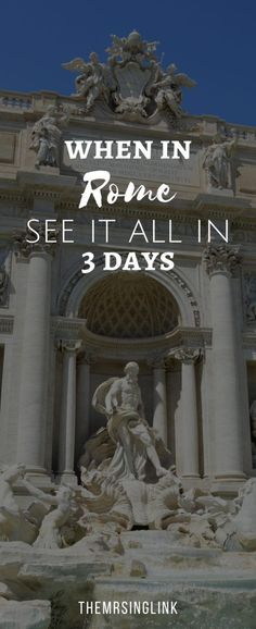 Travel Tips For Planning A Trip To Italy Days In Venice, Florence & Rome] European Travel Tips, Italy Travel Tips, Rome Travel, Rome In December, Must See In Rome, 3 Days In Rome, Italy Pictures, Italy Tours, Italy Vacation