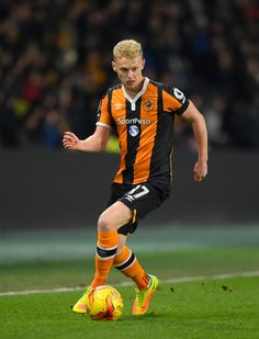 Hull player James Weir in action during the EFL Cup Quarter-Final match between Hull City and Newcastle United at KCOM Stadium on November 29, 2016 in Hull, England.