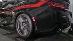 """Watch Hennessey's """"Exorcist"""" Chevy Camaro Scream On the Dyno Camaro Zl1, Chevy Camaro, Modern Muscle Cars, The Exorcist, Wheels And Tires, My Ride, Stunts, Scream, Cool Cars"""