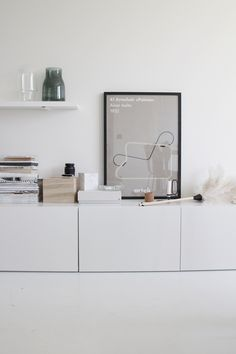 styling inspiration, scandinavian interior, white via elvs. Living Room Inspiration, Interior Inspiration, Black And White Furniture, Interior Styling, Interior Design, Minimalist Decor, Scandinavian Interior, Decoration, Home And Living