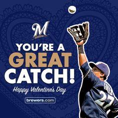 #Brewers #Valentine #ValentinesDay #CarlosGomez