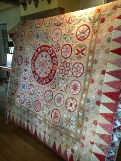 Irish Circles ---Bed, breakfast and quilts