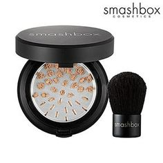 Smashbox Halo Hydrating Perfecting Powder with Kabuki Brush- CRACK- magic flawless powder