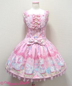 Dolly Cat low waist Jumper skirt: Pink Price: $228.98