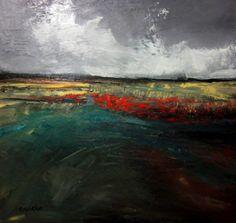 The call Oil on canvas 50cm x 50cm