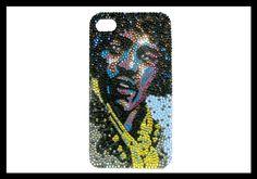David Garibaldi's Jimi Hendrix in Swarovski Crystal by Crystal Icing