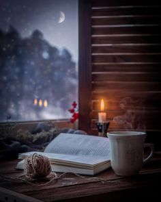 Rainy days should be spent at home with a cup of tea and a good book. Safe Room, Relax, Autumn Aesthetic, Cozy Aesthetic, Autumn Cozy, Coffee And Books, Jolie Photo, Book Photography, Rainy Day Photography