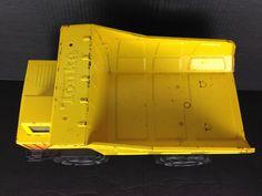 vtg TONKA DUMP TRUCK TURBO DIESEL XMB-975 Yellow metal pressed steel  #TONKATURBO #DIESELTURBO