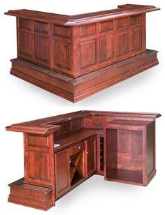 Home Bars - Home Bar Furniture - Home Wet Bars - Custom Home Bars