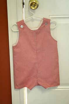 I have been sewing lately, making summer clothes for the boys.  Today I made a Jon Jon/Shortall and thought that I would try to share my kno...