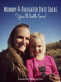 There is something magical about that Mommy and daughter time that just isn't like anything else! Here are some Mommy & daughter date ideas you'll both love! Mommy Daughter Dates, Daughters Day, Raising Daughters, Mother Daughter Activities, Sibling Poses, Co Parenting, Parenting Classes, Family First, My Baby Girl
