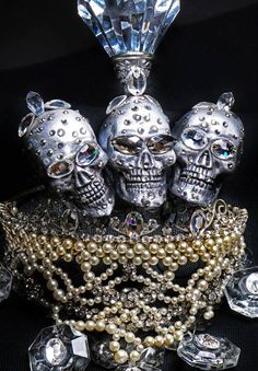 Jeweled headpiece designed by Pericles Kondylatos and worn by Lady Gaga in Athens.