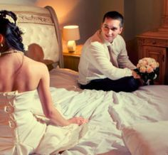 yee..find new couple and finf new bed wedding package