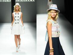 リツコ シラハマ 2015年春夏コレクション - プリズムのような光で紡ぐ、未来への希望や愛 http://www.fashion-press.net/news/13256