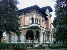 Architettura - Emilia Romagna - Reggio Emilia Reggio Emilia Villa Zironi 1928 prog. ing. Guido Tirelli