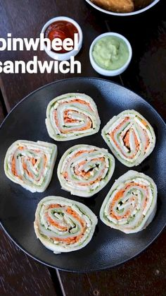 Sandwich Recipes For Kids, Veg Recipes, Spicy Recipes, Cooking Recipes, Halal Recipes, Pinwheel Sandwiches, Pinwheel Sandwich Recipes, Indian Dessert Recipes, Healthy Indian Recipes