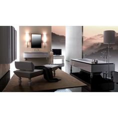 Bania collection by Karol Luxury Bathroom Vanities, Bathrooms, Italian Bathroom, Vanity, Nyc, Collection, Home, Design, Chaise Longue
