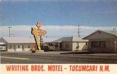Whiting Bros. Motel, Tucumcari, New Mexico, USA