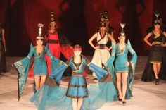 mongolian fashion show