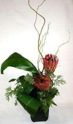 ikebana flower arrangements | Florist - Flowers San Francisco - Ikebana di Nancy Flower Arrangement ...
