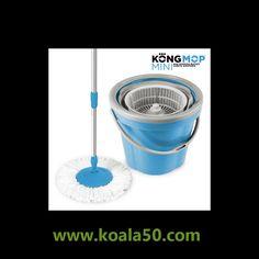 Fregona Giratoria Kong Mop Mini - 14,20 €   ¡Ahorra tiempo y esfuerzo! Con la fregona giratoria Kong Mop Mini fregar el suelo será un juego de niños. El cubo cuenta con un tambor centrifugador que gira con una ligera presión. Introduce la...  http://www.koala50.com/ideas-para-el-hogar/fregona-giratoria-kong-mop-mini