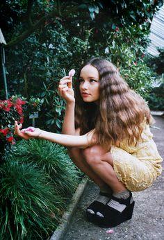 Hannah Kuessner by Marie Zucker for Material Girl #18