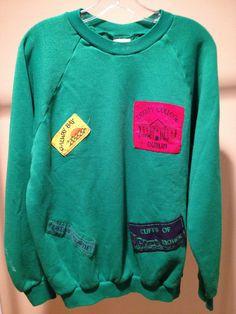 Vintage Authentic Ireland Sweatshirt by 21Vintage on Etsy, $55.00