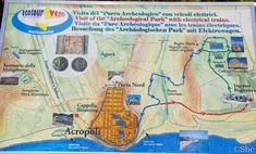 Plan du site de Selinunte