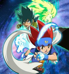 Ginga & Pegasus vs Kyoya & Leone