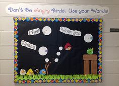 If I ever work in a school and get to decorate a bulletin board this is totally what I am going to do! how cute