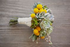 I see a new trend in bouquets with these lovely succulent.