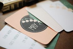 I'll need ALL the printable cards this genius woman has made if I ever decide to get into Project Life! CUTE.