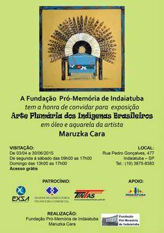Fuxicos D'Avila: Arte Plumária dos Indígenas Brasileiroshttp://fuxicosdavila.blogspot.com.br/2015/03/arte-plumaria-dos-indigenas-brasileiros.html #exposição #indaiatuba #fundacaopromemoria #arte #cultura