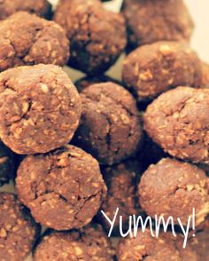 Chocolate Protein Bliss Balls    ¼ cup raw cacao  ¼ cup shredded coconut  ¼ cup raw unsalted almonds  2 tablespoons of coconut oil/meat  3 tablespoons raw honey or agave nectar  2 tablespoons maca powder  3 dates  3 sachets of Stevia  ½ teaspoon of vanilla  1 teaspoon cinnamon