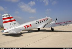 Transcontinental and Western Air Douglas DC-2 N1934D c/n  1368 Camarillo Airport February 21, 2007 Photo by: ET Delivered to Pan American on March 16, 1935, the airplane has been meticulously restored as TWA's first DC-2, NC13711.