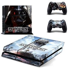 Beyone PS4 Designer Skin for Sony Playstation 4 Console System Plus Two2 Decals For PS4 Dualshock Controller Star War by Beyone ** Be sure to check out this awesome product.Note:It is affiliate link to Amazon.